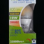 Viribright 10w Warm White LED Bayonet
