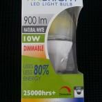 Viribright 10w Natural White LED Screw
